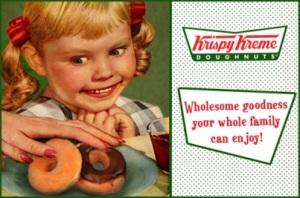 krispy kreme doughnut girl